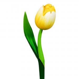 10021 Houten tulpen geel