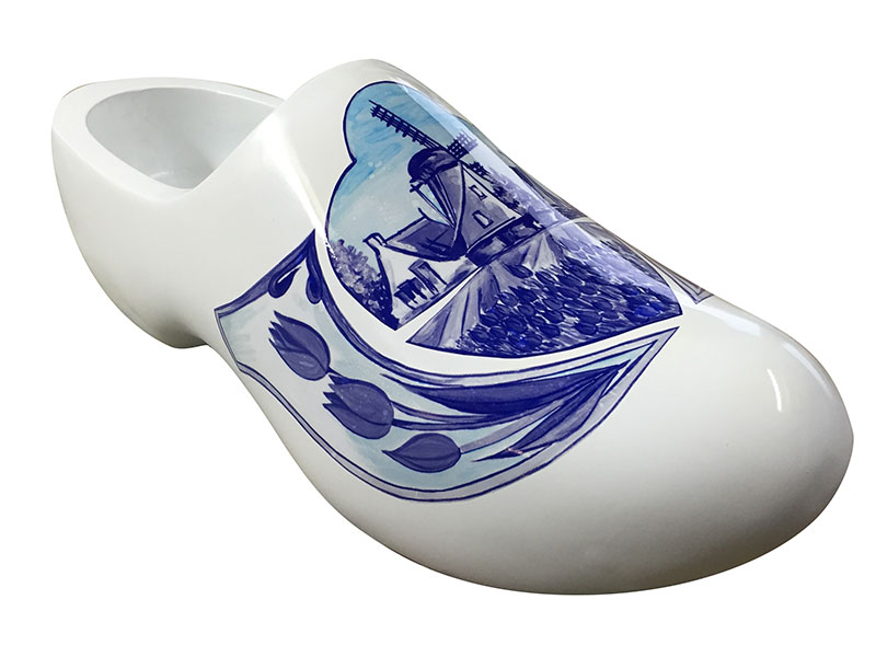 Reuzen klompen - Delfts blauw