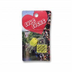 HKS065 Love Locks Amsterdam Geel