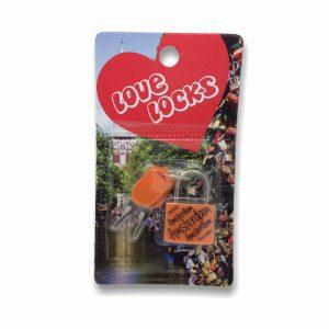HKS065 Love Locks Amsterdam Oranje