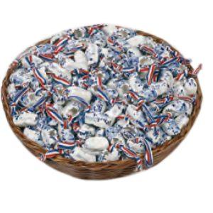Delfts blauwe corsage klompjes