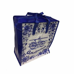 Shopper Delfts blauw