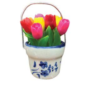 Tulpen in potje