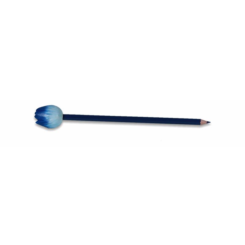 Tulp potlood blauw