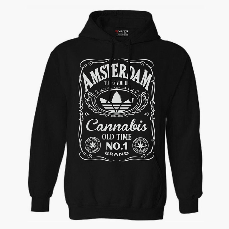 Sweater Amsterdam Cannabis