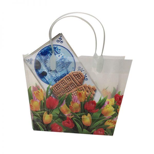 Tulptasje met speculaas - Hollands geschenkpakket