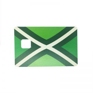 Pinpas sticker Achterhoekse vlag
