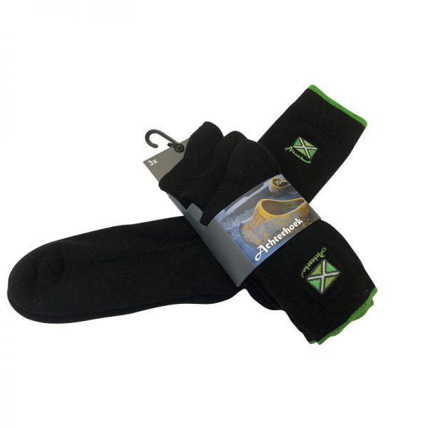 Achterhoekse vlag sokken zwart