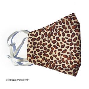 Mondkapje luipaard panter print