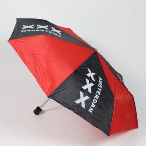 Paraplu Rood Zwart Amsterdam